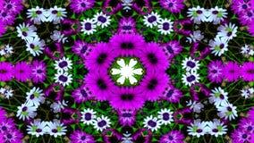 Flores Flora Kaleidoscope foto de stock royalty free