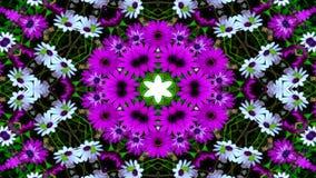 Flores Flora Kaleidoscope fotografia de stock