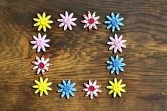 Flores, fondo para el texto Foto de archivo libre de regalías