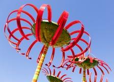 Flores gigantes Imagen de archivo libre de regalías