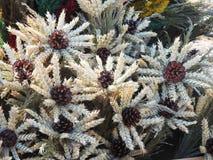 Flores grandes hechas a mano de diversas plantas, Lituania Foto de archivo libre de regalías