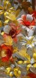 Flores hermosas de papeles brillantes fotografía de archivo