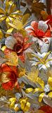 Flores hermosas de papeles brillantes fotos de archivo libres de regalías