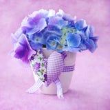 Flores hermosas del Hydrangea Fotos de archivo