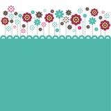 Flores. ilustração do vetor Fotos de Stock