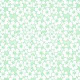 Modelo inconsútil floral del hibisco stock de ilustración