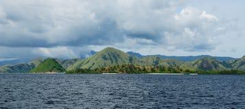 flores Indonesia komodo park narodowy Zdjęcia Stock