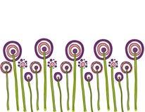 Flores kwiat Fleurs ilustracji
