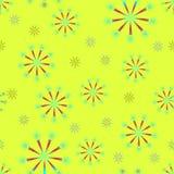 Flores labradas Imágenes de archivo libres de regalías