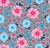 Flores lindas en fondo de los panales Fotos de archivo