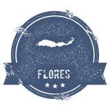 Flores logo sign. royalty free illustration