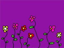 Flores lunáticas Imagem de Stock