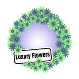 Flores luxuosas Fotografia de Stock Royalty Free