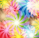 Flores mágicas stock de ilustración