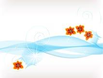 Flores na água Fotografia de Stock Royalty Free
