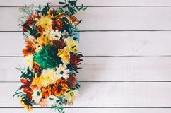 Flores na caixa Fotos de Stock