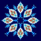 Flores na versão da arte uma do otomano Fotografia de Stock