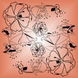 Flores no outono Imagens de Stock