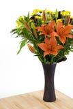 Flores no vaso Imagens de Stock