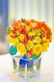 Flores nupciais imagens de stock