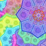 Flores orientais Imagem de Stock