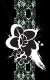 Flores orientais Ilustração Royalty Free