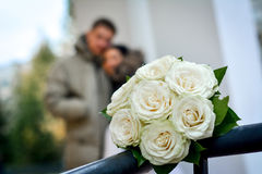 Flores originais do casamento Foto de Stock Royalty Free