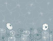 Flores ornamentado Fotografia de Stock