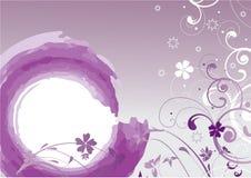 Flores púrpuras Fotos de archivo