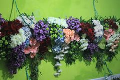 Flores para casamentos Foto de Stock Royalty Free