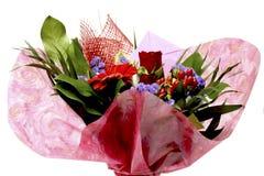 Flores para el día de tarjetas del día de San Valentín Foto de archivo