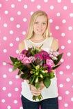 Flores para la madre Foto de archivo libre de regalías