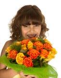 Flores para a matriz imagens de stock