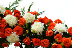 Flores para o casamento Fotos de Stock Royalty Free