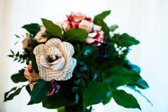 Flores para a tabela do casamento Imagem de Stock Royalty Free