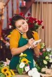Flores para a venda Imagens de Stock