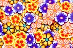 Flores pequenas coloridas fundo Foto de Stock Royalty Free