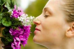 Flores perfumadas Fotografia de Stock Royalty Free
