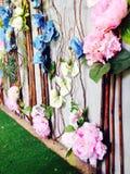 Flores plásticas Imagem de Stock Royalty Free