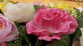 Flores plásticas Imagens de Stock Royalty Free