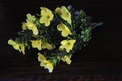 Flores plásticas coloridas Foto de Stock Royalty Free