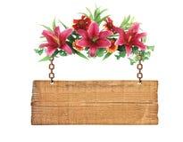 Flores Ramalhete colorido das flores isolado no branco Imagem de Stock Royalty Free