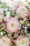 Flores: ramo de rosas Fotos de archivo