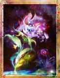 Flores razoáveis ilustração royalty free