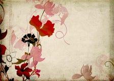 Flores retras ilustración del vector