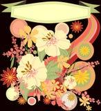 Flores retras Fotografía de archivo libre de regalías