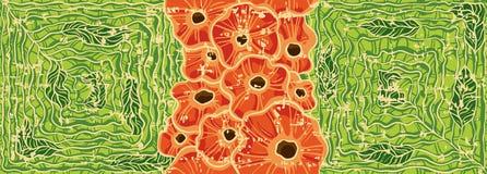 Flores rojas Imagen de archivo libre de regalías