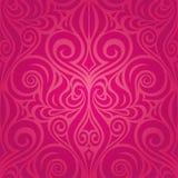 Flores rojas, diseño floral decorativo magnífico de la boda del fondo de la moda stock de ilustración