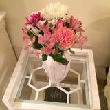 Flores románticas del amor Fotografía de archivo