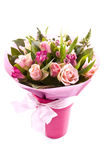 Flores românticas Fotografia de Stock Royalty Free